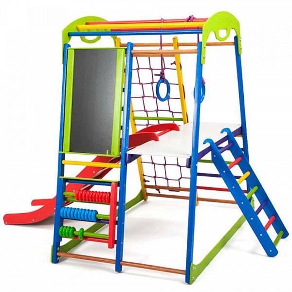 Детский спортивный комплекс для дома SportWood Plus 3 10246