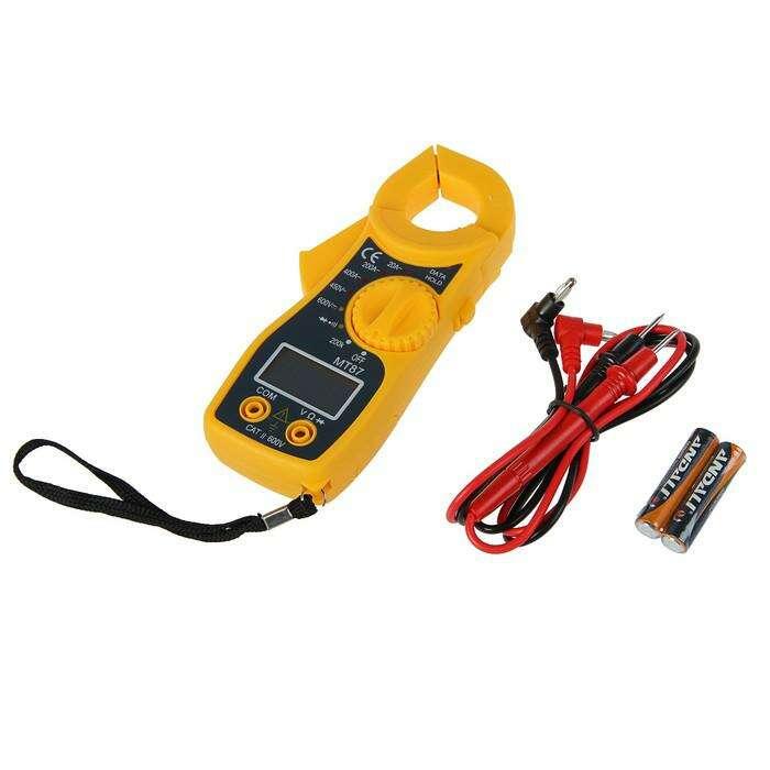Токоизмерительные клещи MT 87, ACV 450V, DCV 600V, 20-400A, без батареек