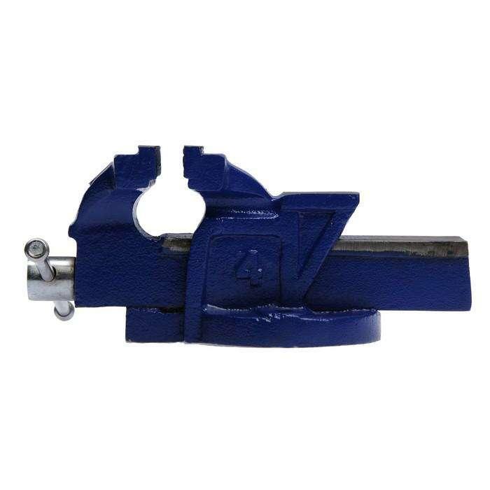 Тиски слесарные TUNDRA comfort, 100 мм, высококачественный чугун ВЧ-40
