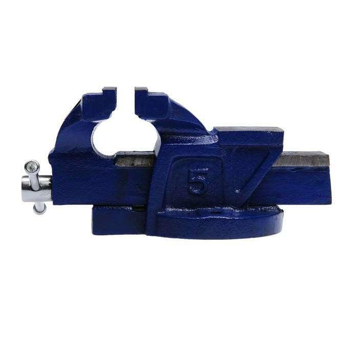 Тиски слесарные TUNDRA comfort, 125 мм, высококачественный чугун ВЧ-40