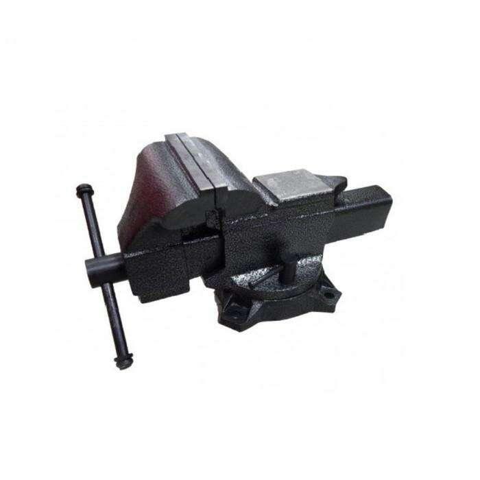 """Тиски стальные Forsage F-6540205A, поворотные с наковальней, 5"""" - 125 мм"""