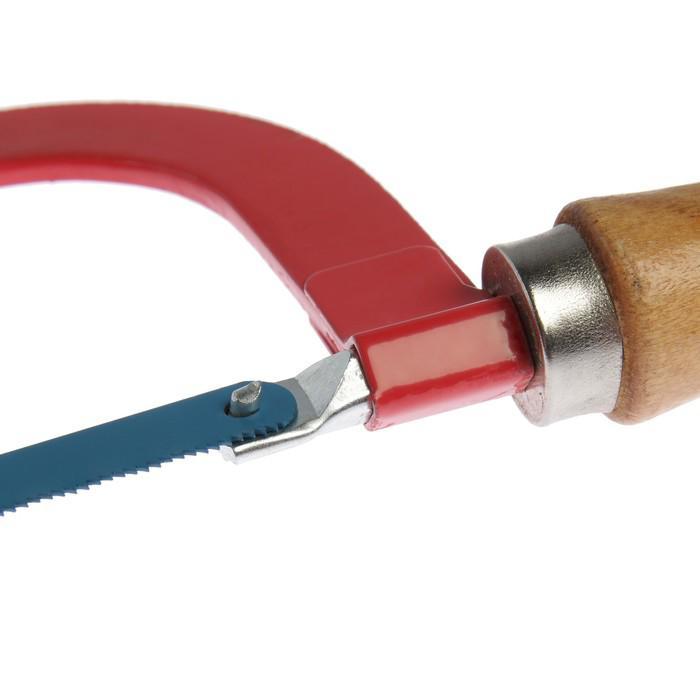 Ножовка по металлу LOM, деревянная ручка, 300 мм