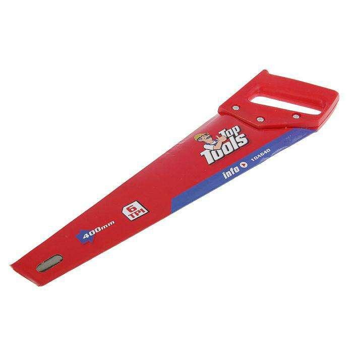 Ножовка по дереву Top Tools 400мм 6 TPI