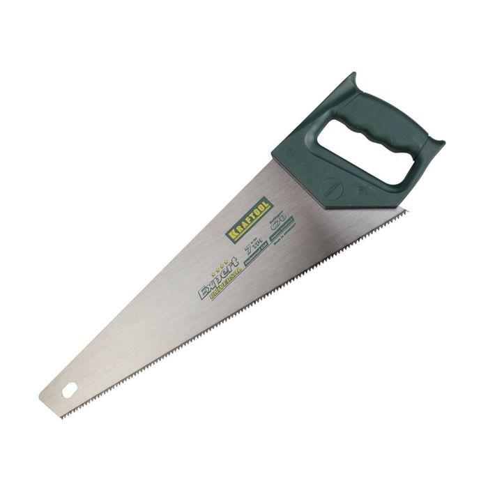 """Ножовка по дереву """"KRAFTOOL"""" UNIVERSAL, 500 мм, 7/8 TPI, зуб универсальный"""