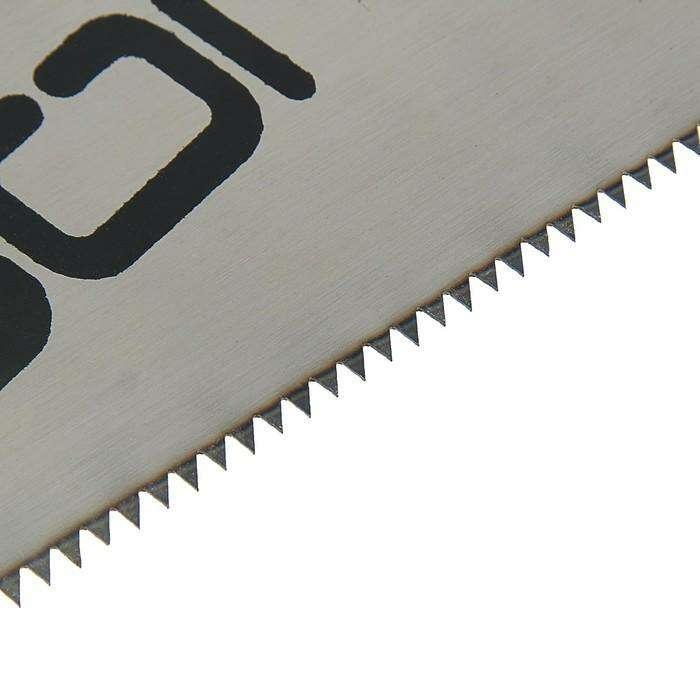 Ножовка по дереву LOM, 350 мм, 7-8 TPI, каленый зуб, пластиковая рукоятка