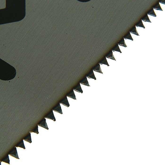 Ножовка по дереву LOM, 7-8 TPI, заточка 2D, каленый зуб, 500 мм