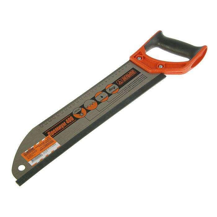 """Ножовка по дереву """"Дельта"""", Премиум, 400 мм, универсальный, шаг 4,5 мм"""