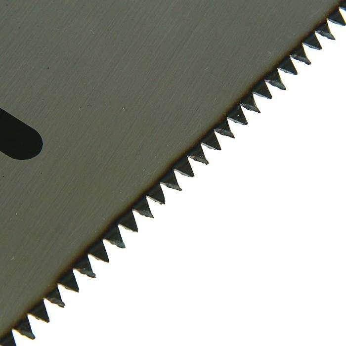 Ножовка по дереву LOM, 7-8 TPI, заточка 2D, каленый зуб, 450 мм