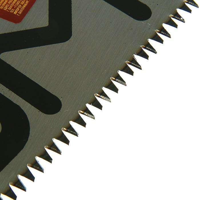 Ножовка по дереву LOM, 400 мм, 7-8 TPI, 3D заточка, каленый зуб