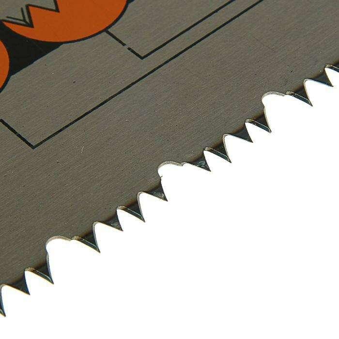 """Ножовка по дереву """"Дельта"""", Премиум, 500 мм, переменный, шаг 6 мм"""