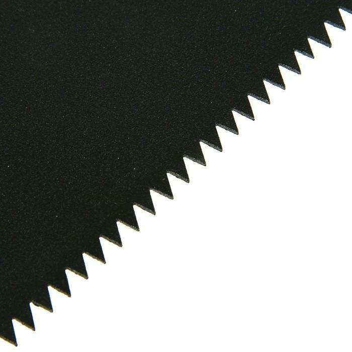 Ножовка по дереву LOM, 450 мм, 7-8 TPI, полотно 0.8 мм, защитное покрытие