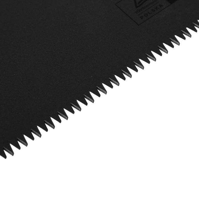 Ножовка по дереву, NEO, 500 мм, 7TPI, 3D лазерная заточка, угольник, тефлоновое покрытие