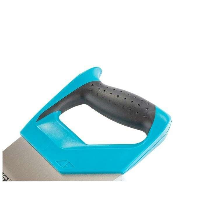 Ножовка по дереву Gross PIRANHA, 550 мм, 11-12 TPI, каленый зуб - 3D