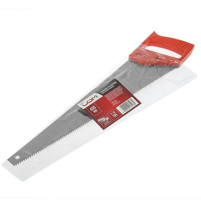 Ножовка по дереву LOM 7-8 TPI 400 мм