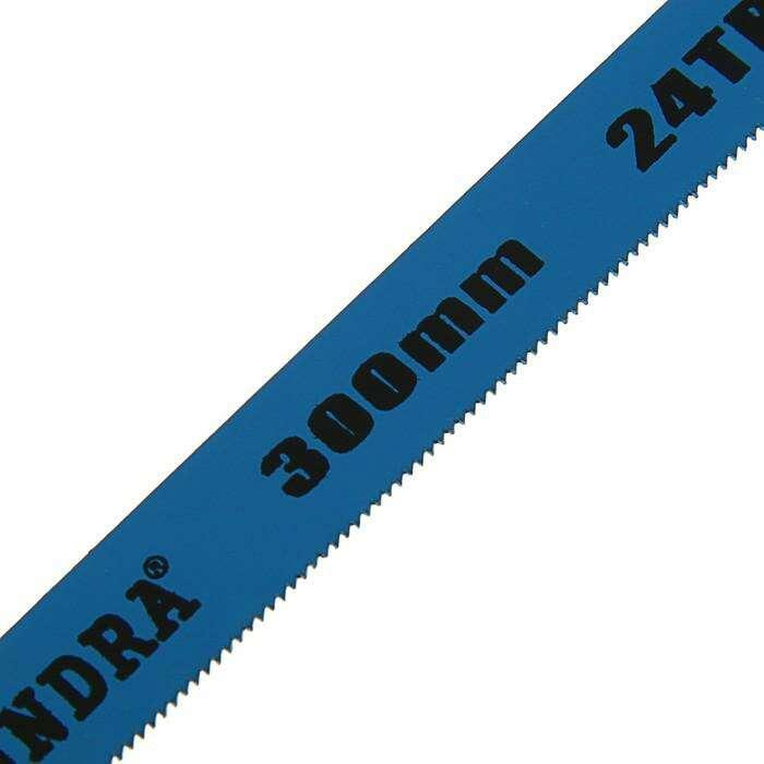 Полотна для ножовки по металлу Tundra  24 TPI, 300 мм, 6 шт