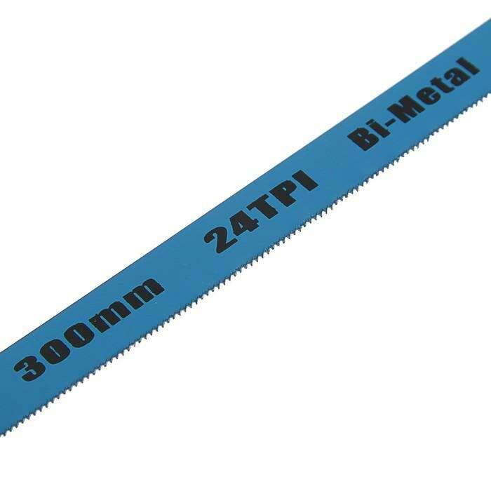 Полотна для ножовки по металлу Tundra 24 TPI,  300 мм, 12 шт