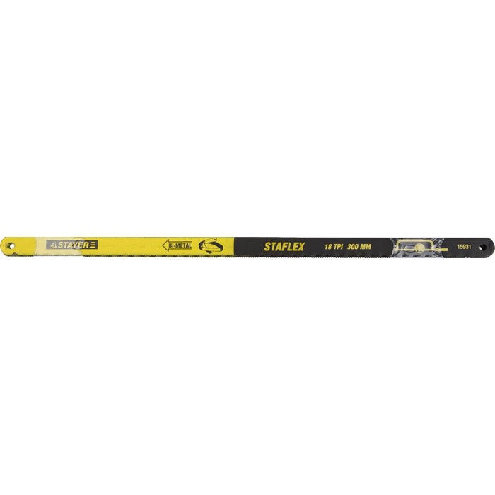 Полотно STAYER 15931-S50, по металлу, биметаллическое, 18TPI, 300 мм, 50 шт
