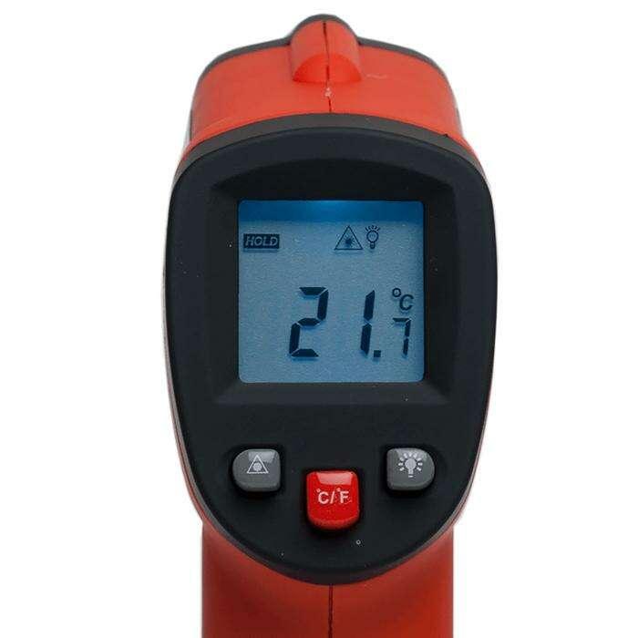 Пирометр инфракрасный ADA TemPro 300, от -32° до +350°, точность ±1.5, 9V