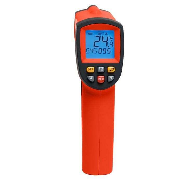 Пирометр инфракрасный ADA TemPro 700 А00224, от –50° до 700°, точность ±1.5, 9 В