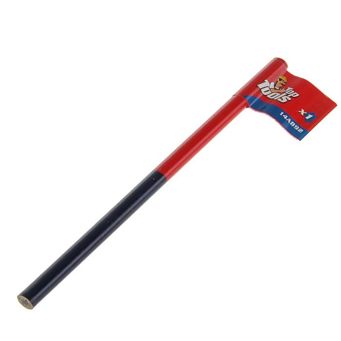Карандаш малярный Top Tools, цвет сине-красный