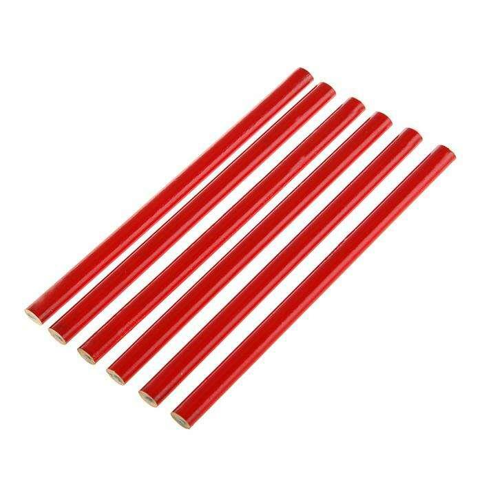 Набор карандашей TUNDRA, 180 мм, 6 шт.