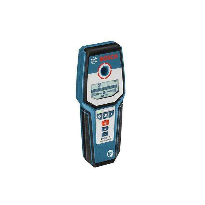 Детектор Bosch GMS 120 (0601081000), для обнаружения металлов, MAX 12 см