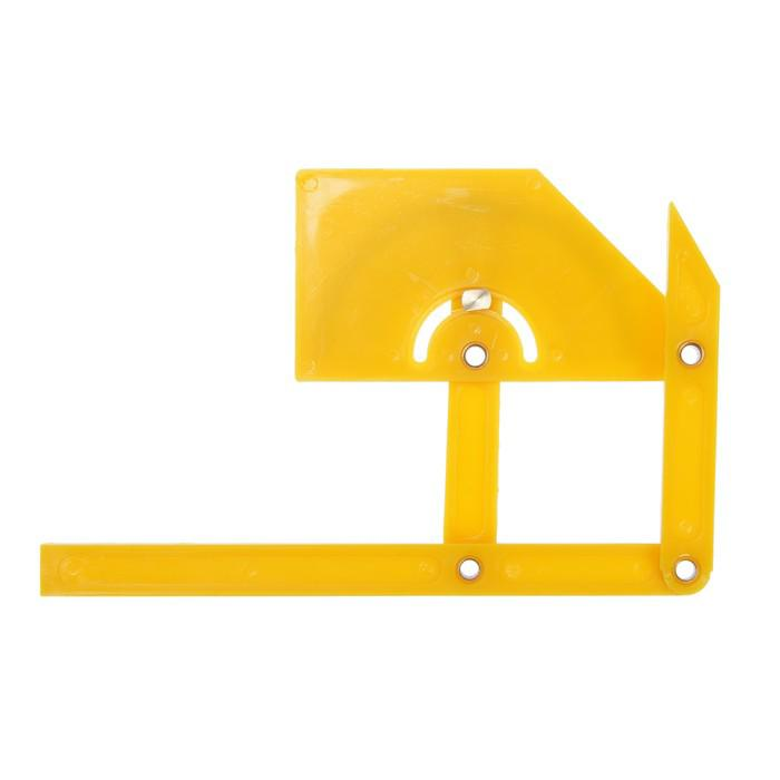 Угломер-квадрант TUNDRA basic, пластиковый, 90-155 мм