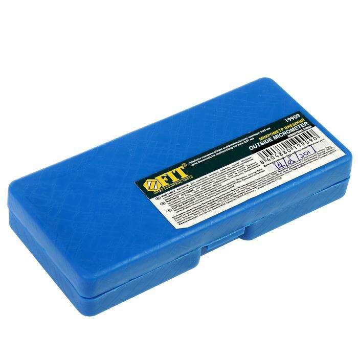 Микрометр FIT, наружный, 0 - 25 мм/0,01 мм