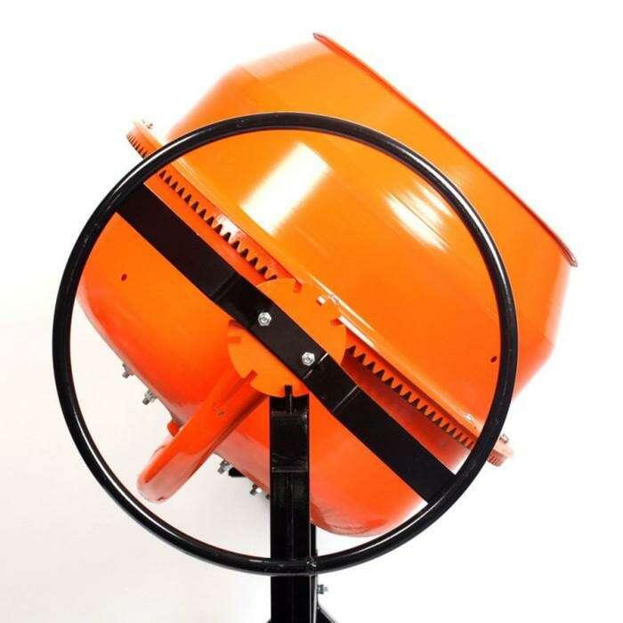 Бетоносмеситель PATRIOT БМ 127С, 370 Вт, объем бака/смеси 100/65 л, 26 об/мин