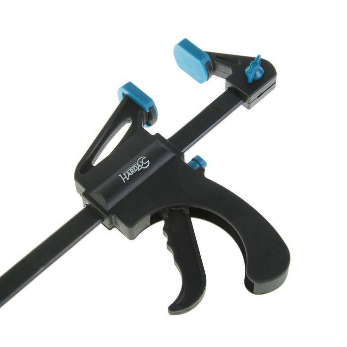 Струбцина Hardax, быстрозажимная с фиксатором, 450 мм