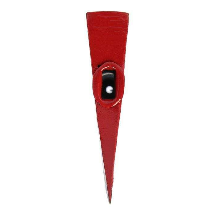 Топор кованый LOM, 900 г, цельнометаллическая обрезиненная рукоятка
