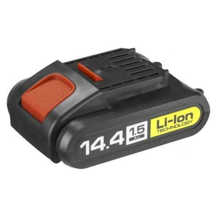 "Батарея аккумуляторная ""ЗУБР"" АКБ-14.4-Ли 15М1, Li-Ion, 1.5Ач, 14.4В, тип М1"
