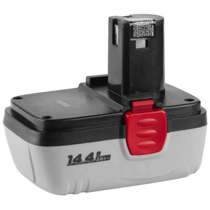 """Батарея аккумуляторная """"ЗУБР"""" ЗАКБ-14.4 N20, Ni-Cd, для  ЗДА-14.4-2 КИН20, 2 Ач, 14.4 В"""