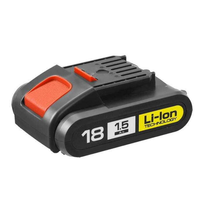 "Батарея аккумуляторная ""ЗУБР"" АКБ-18-Ли 15М1, 18 В, Li-Ion, 1.5 Ач"