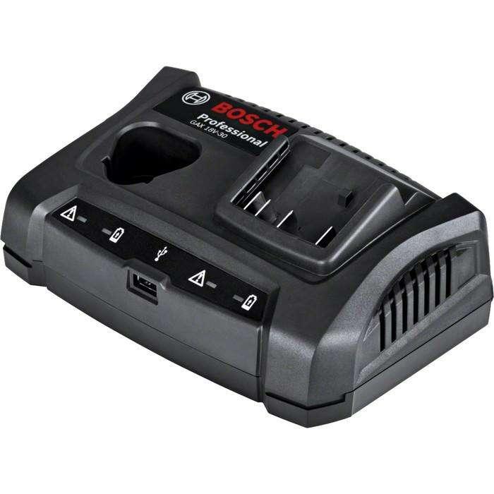 Зарядное устройство Bosch 1600A011A9, 10,8-18В, слайдер/обойма, Li-ion