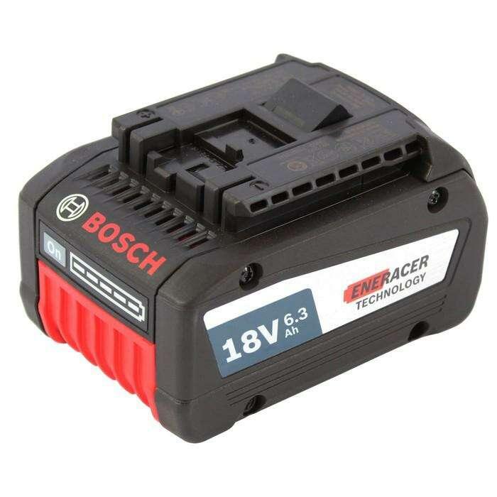 Аккумулятор Bosch 1600A00R1A, 18 В, 6.3 Ач, Li-Ion
