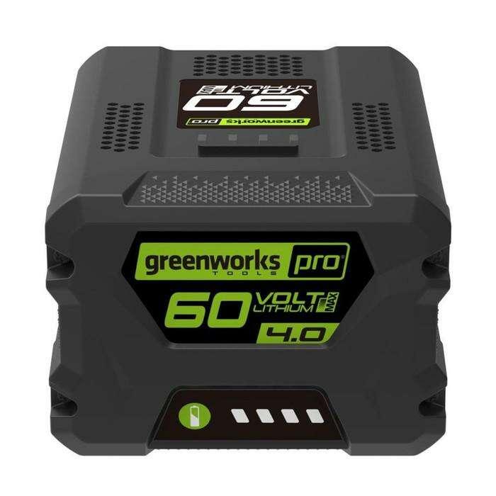 Аккумулятор GreenWorks G60B4 (2918407)