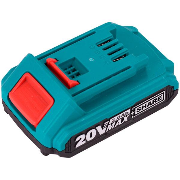 Аккумулятор для электроинструмента Total Series S20, 20V 2.0 Ah (TFBLI20011)