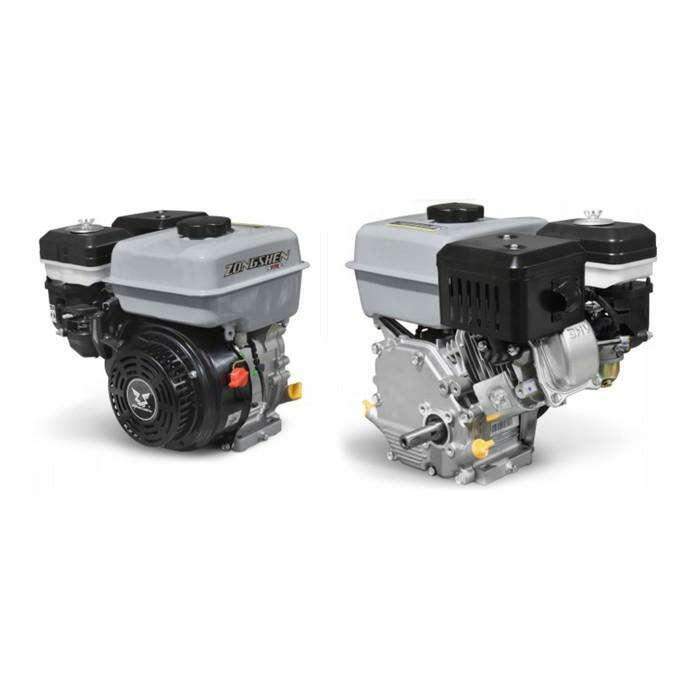 Двигатель ZONGSHEN ZS170F-5, 4Т, бенз., 7 л.с., 208 см3, d=20 мм, пониж.ред. 2:1
