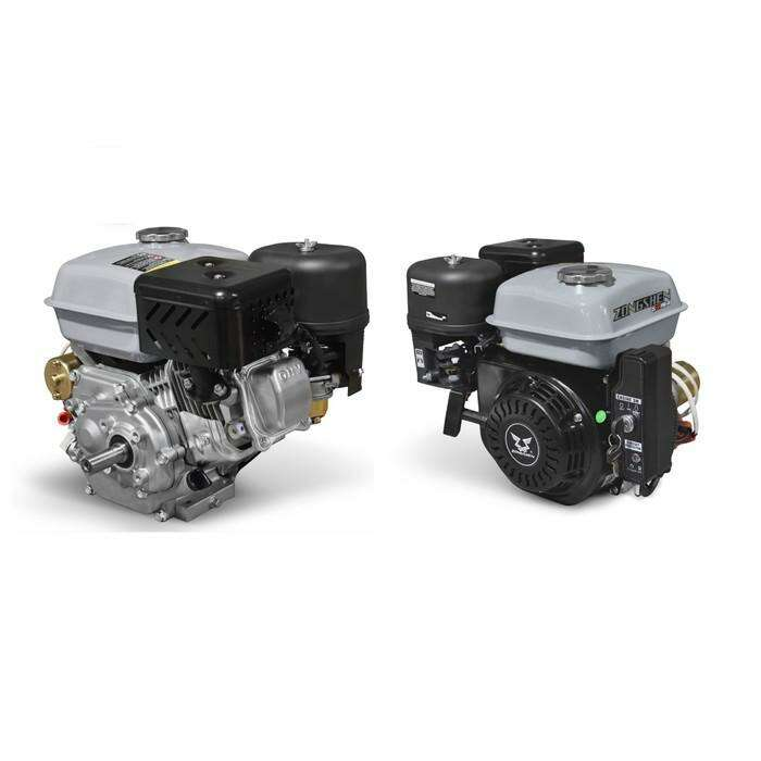 Двигатель ZONGSHEN ZS168FBE-6, бенз., 4Т, 6.5 л.с., 196 см3, d=20 мм, электростартер
