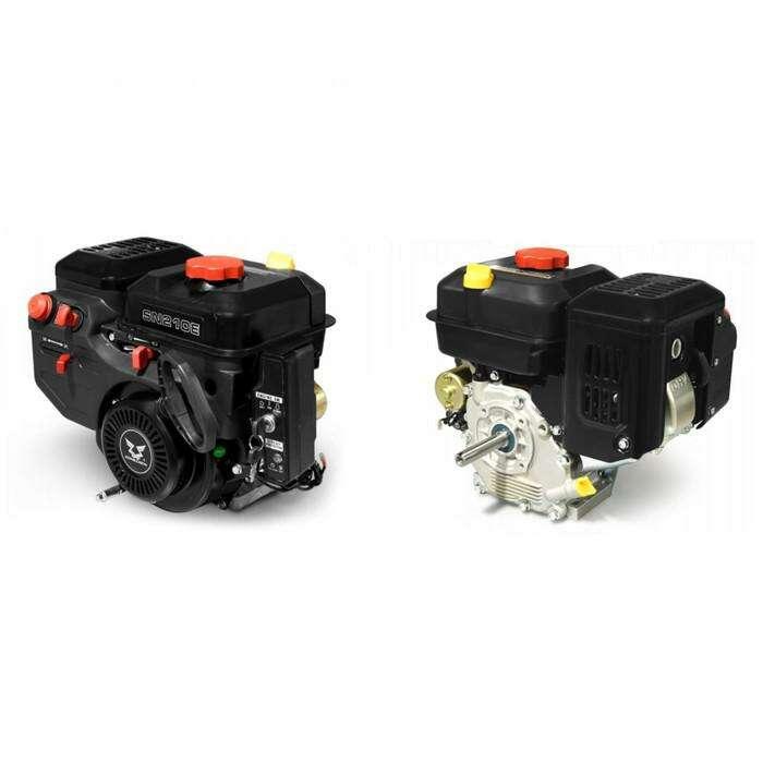Двигатель ZONGSHEN SN210E, зимний, бенз., 4 кВт/7 л.с., 208 см3, d=19 мм, эл.старт
