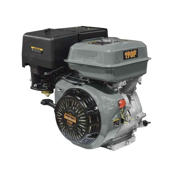 Двигатель Carver PROMO 190F, бензиновый, 4Т, 15 л.с., 6.5 л, вых.вал S-type, d=25 мм