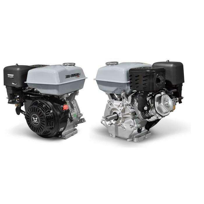 Двигатель ZONGSHEN ZS177FE, бенз., ген.катушка, 4Т, 9 л.с., 270 см3, d=25 мм, электростартер   34688