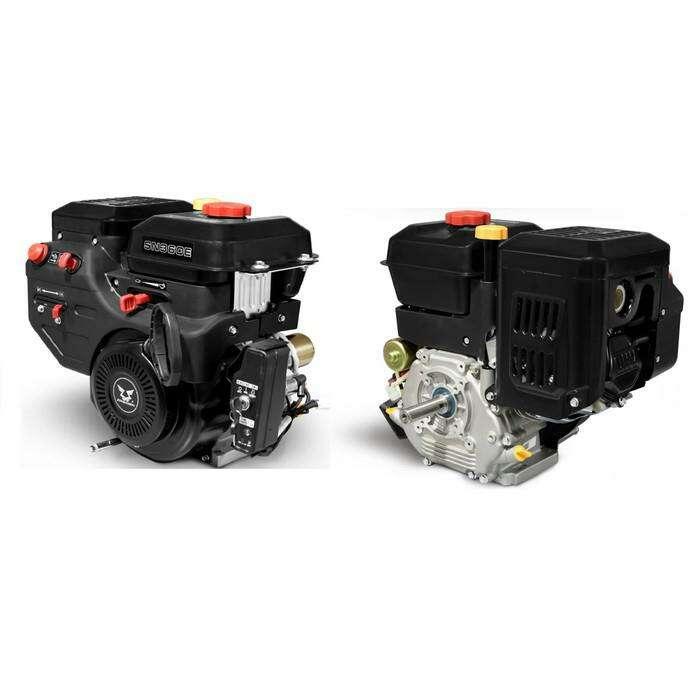 Двигатель ZONGSHEN SN360E, бенз., зимний, ген.катушка, 12л.с., 357см3, d=25мм, электростарт   346880