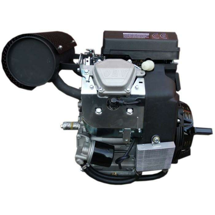 Двигатель LIFAN 2V78F-2А PRO, бензиновый, 4Т, 16.5 кВт/27 л.с., катушка 20 А, d=25 мм