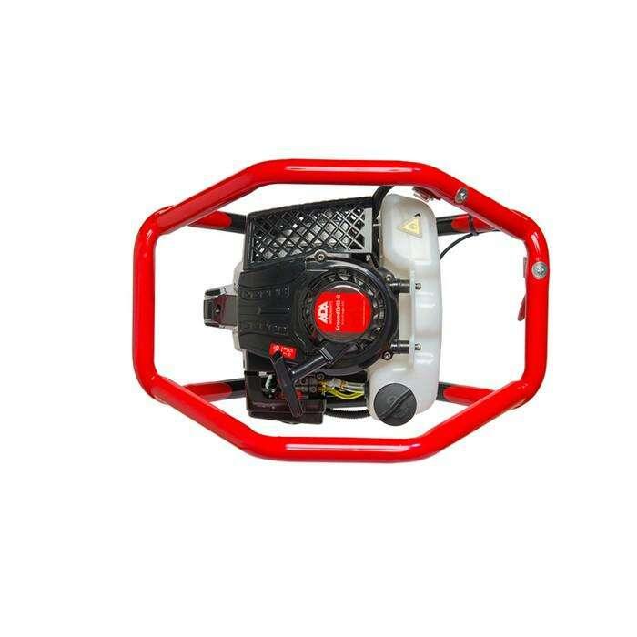 Мотобур ADA GroundDrill-8 со шнеком Drill 250 (A00367), бенз., 2Т, 3.26 л.с/2.4 кВт