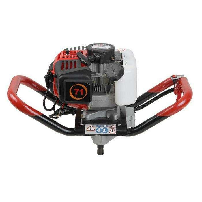 Мотобур ADA GroundDrill-7 со шнеком Drill 250 (A00232), бенз., 2Т, 3.26 л.с/2.4 кВт