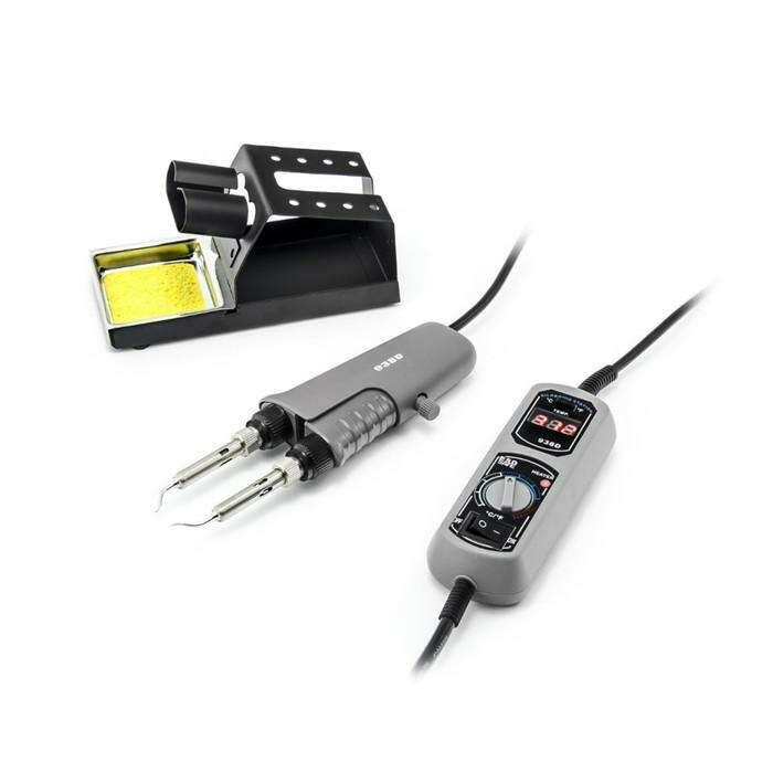 Портативный термопинцет ELEMENT 938D, 120 Вт, 200-480 °С, ±2 °С, LCD дисплей