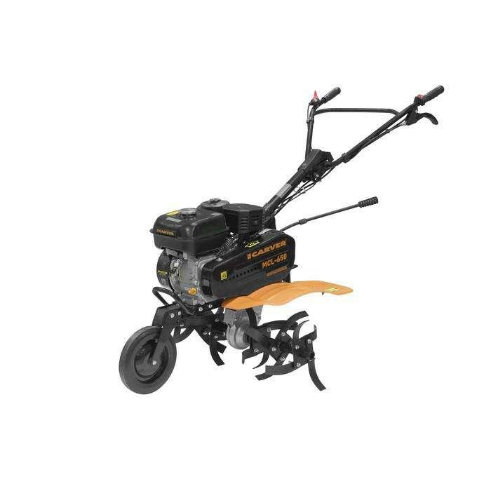 Мотокультиватор CARVER MCL-650, бенз., с комплектом ЗиП, 6.5 л.с., скорости 2/1, 4.8 л