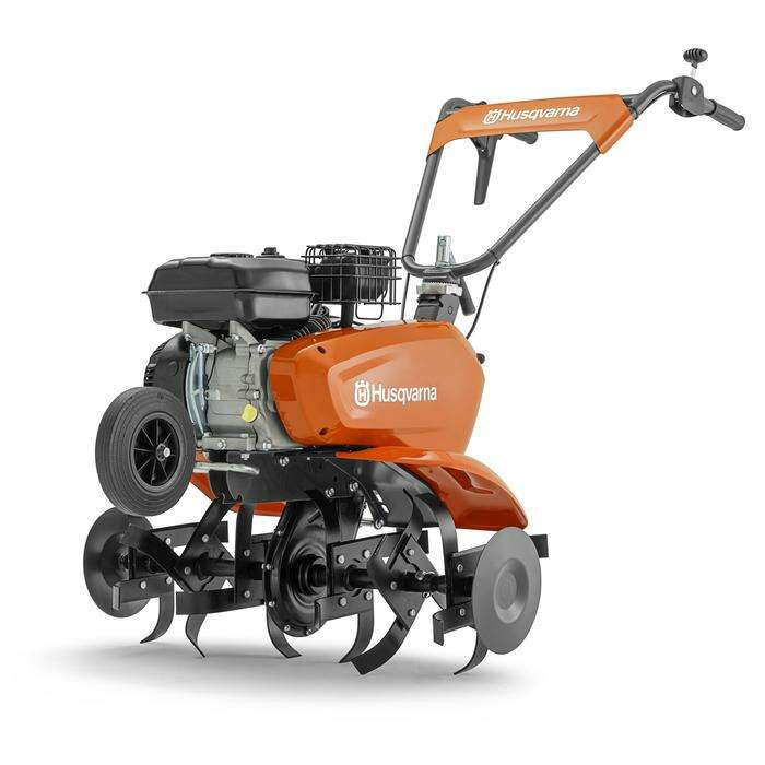 Культиватор Husqvarna TF 335, 4.5 кВт, скорости 2/1, 6 фрез, ширина/глубина 80/30 см